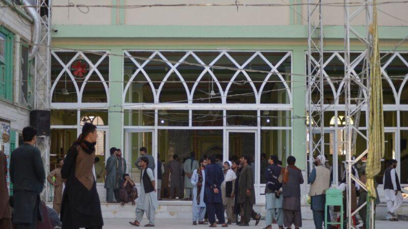 IS-K自殺攻擊 阿富汗坎大哈清真寺41死70傷
