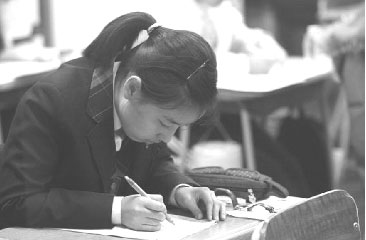 南韓學生參加大學入學考試(Getty Images)