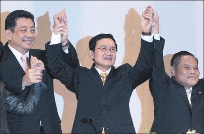 頌猜(Somchai Wongsawat)昨天在泰國總理選舉中,以298票獲選為泰國第26任總理。(AFP)