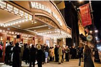 1月6日至8日,美國神韻藝術團將在費城著名的瑪麗安劇院(Merriam Theater)演出四場。(大紀元)