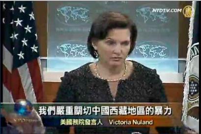 針對藏人被槍殺事件,美國國務院星期二表達嚴重關切。(視頻截圖)