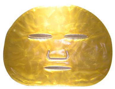 24K意大利黃金面膜價值不菲,在美國的售價是一片200美元,香港則一千多港元。