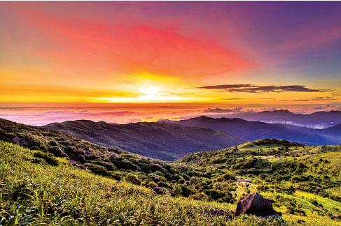 大帽山經常被大霧圍繞,俗稱「大霧山」,是香港最高的山峰,海拔957米。(圖片|gosai/攝影札記)