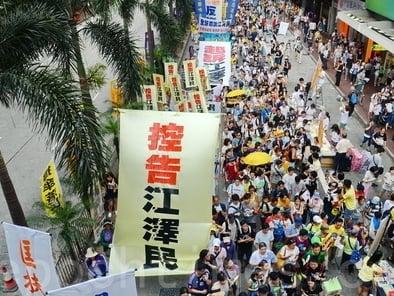 控江人數的劇增,將凝聚更多正義力量,有力推動針對江澤民的清算行動。(大紀元)
