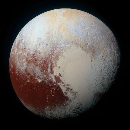 冥王星最新超高清照 呈現冰川山脈隕石坑