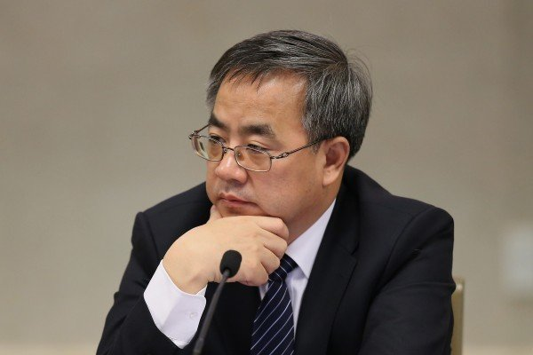 日前,大陸官媒罕見報道胡春華在公開發言中透露出的施政傾向,引外界關注。(Feng Li/Getty Images)