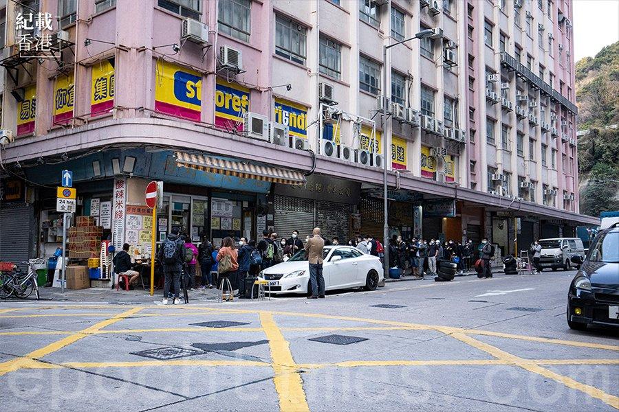 好好運快餐店原舖位於醫局街西與永康街交界。(陳仲明/大紀元)