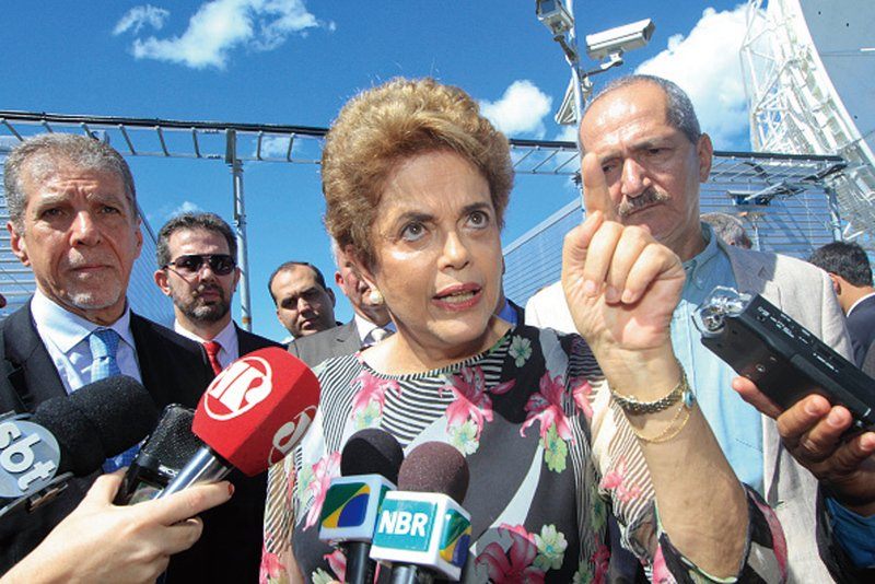 圖為遭停職的巴西總統羅塞夫。(Getty Images)