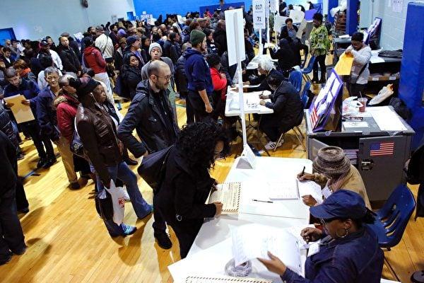 美國大選投票人數預計打破紀錄