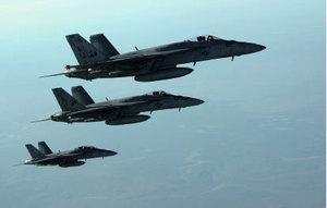 美軍空襲敘利亞 美官:目標是IS發言人