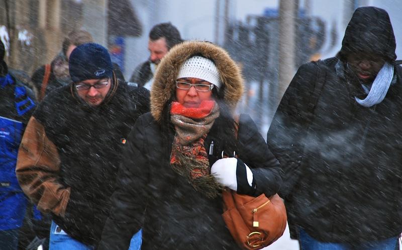 極寒天氣蔓延加拿大五省 凍傷警告升級