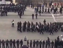 上千警圍堵天津市天穆村3天 抓捕維權村民
