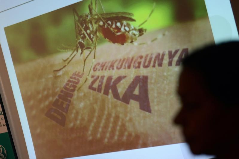 科學家最新的研究也發現,寨卡病毒也可能引發危險的神經失調疾病吉蘭-巴雷氏症候群(Guillain-Barre syndrome)。 ( NOAH SEELAM/AFP/Getty Images)
