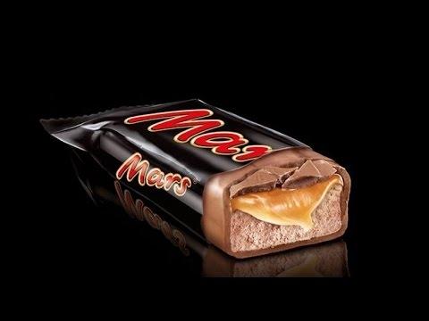 圖為Mars公司巧克力產品。(youtube擷圖)