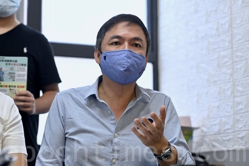 香港資深對沖基金經理錢志健。(宋碧龍/大紀元)