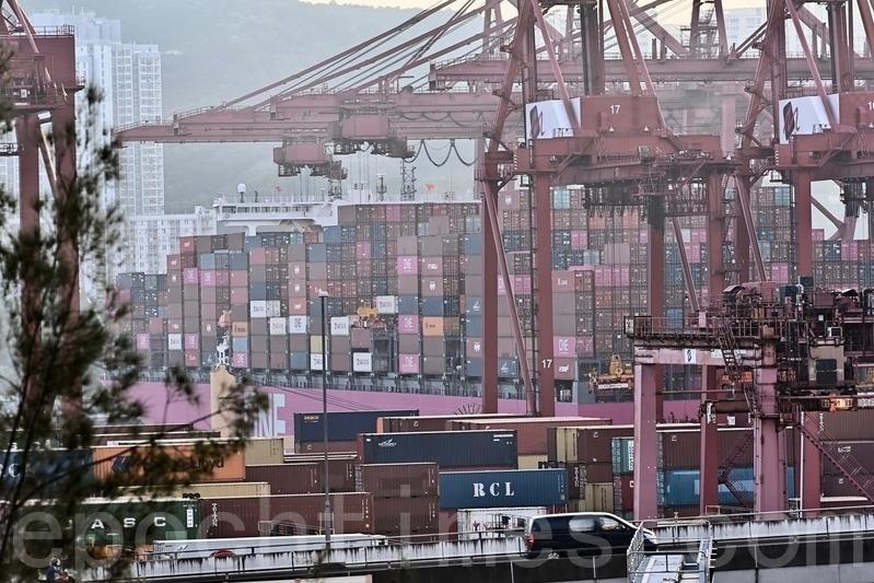 香港7月份出口按年上升26.9% 錄逆差350億元