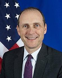 美國駐港總領事史墨客(Hanscom Smith)資料圖片(來源:維基百科)