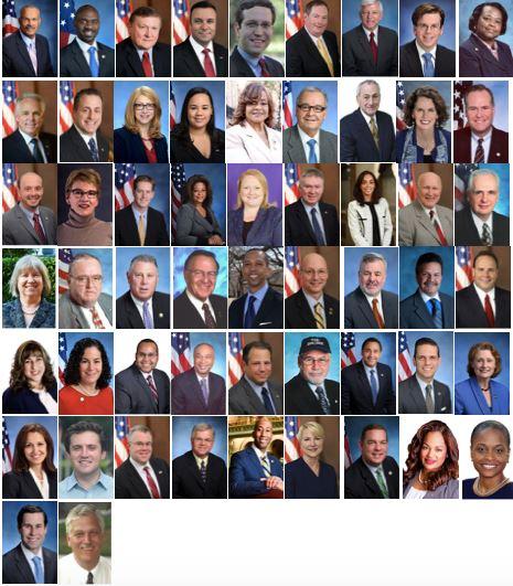 紐約州五十六位州眾議員聯署褒獎,恭賀第十九屆「世界法輪大法日」。(明慧網)